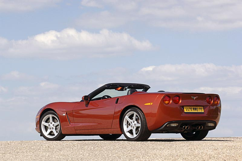2005 Chevrolet Corvette C6 Photographs