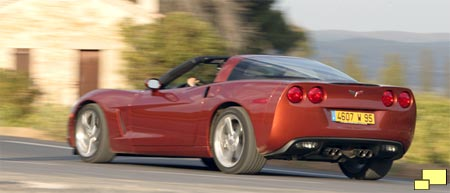 2005 C6 Corvette, rear view