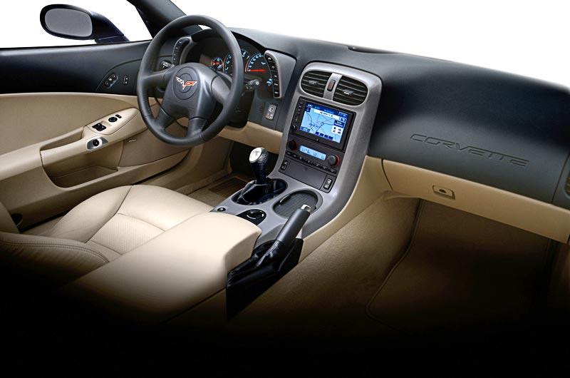 Marvelous 2005 Corvette Interior