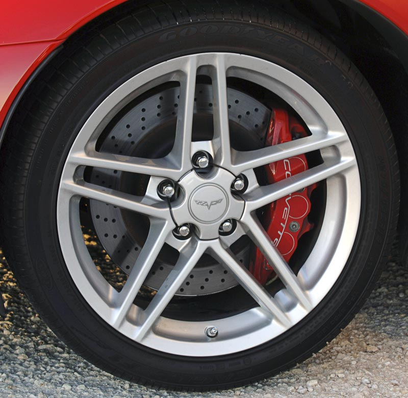 2006 Corvette Z06 Wheels