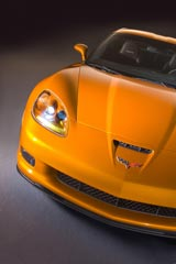 2007 Corvette in Atomic Orange