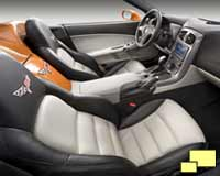 2007 Corvette two tone interior