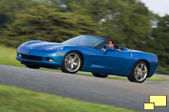 2008 Corvette in Jetstream Blue
