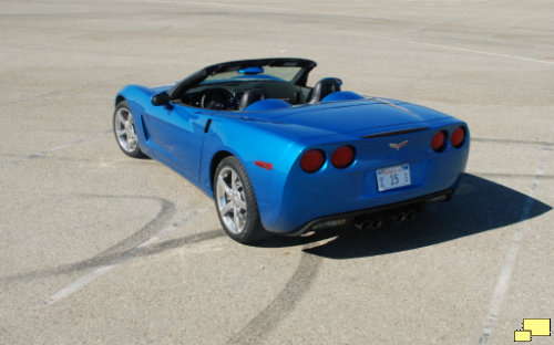 2009 Corvette Convertible Jetstream Blue