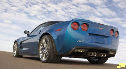 2009 Corvette ZR1 C6 Jetstream Blue Metallic Tintcoat