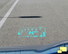 2009 Chevrolet Corvette Heads Up Display