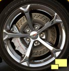 2010 Corvette Grand Sport Chrome Wheel