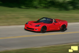 2013 Chevrolet Corvette convertible with 427 cubic inch motor