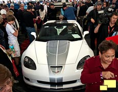 2013 Chevrolet Corvette convertible special edition heads for the auction block at Barret-Jackson