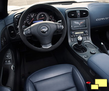 2013 Chevrolet Corvette convertible special edition interior