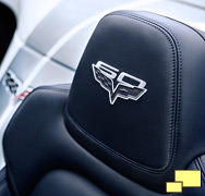2013 Chevrolet Corvette convertible special edition seat embroidery