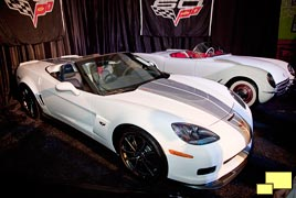2013 Chevrolet Corvette convertible special edition with 1953 Corvette