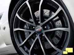 2013 Chevrolet Corvette convertible special edition wheel