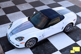 2013 Corvette convertible LS7 anniversary top