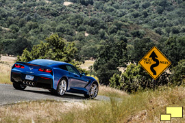 2014 Chevrolet Corvette Stingray, Laguna Blue Tintcoat