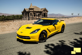 2014 Chevrolet Corvette Stingray, Velocity Yellow Tintcoat
