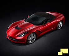 2014 Chevrolet Corvette convertible, Torch Red