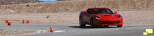 2014 Corvette at the Streets of Willow Springs