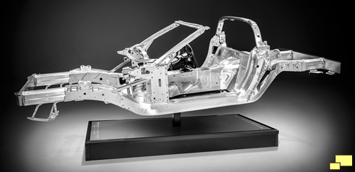 Corvette C7 Chassis And Suspension Details