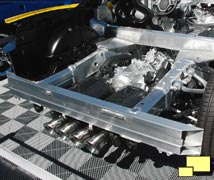 2014 Chevrolet Corvette Chassis, Rear