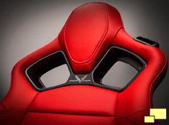 2014 Chevrolet Corvette C7 competition seat