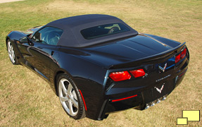 2014 Chevrolet Corvette Convertible, Black