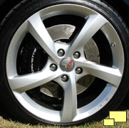 2014 Chevrolet Corvette convertible Z51 wheel
