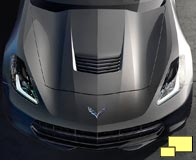 2014 Corvette hood air outlet