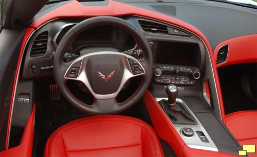 2014 Corvette C7 Interior: Significant Upgrade - World ...