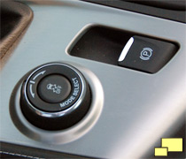 2014 Chevrolet Corvette mode select switch