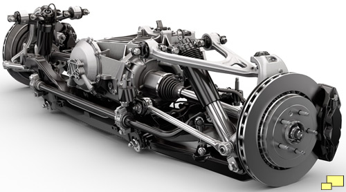 2014 Chevrolet Corvette C7 rear suspension