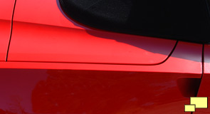2014 Corvette convertible rear fender