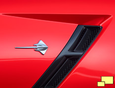 2014 Corvette Stingray Emblem