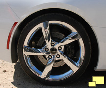 2015 Chevrolet Corvette Atlantic Convertible Wheel