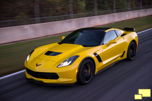 2015 Chevrolet Corvette C7 Z06 in Velocity Yellow