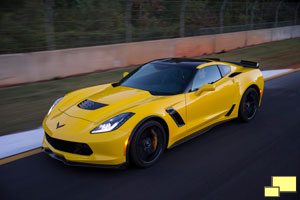 Chevroelet Corvette C7 Stingray Z06 in Velocity Yellow