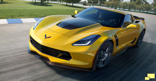 2015 Chevrolet Corvette Z06 in Velocity Yellow Tintcoat