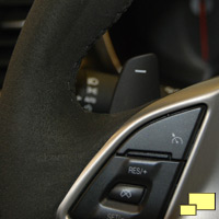 2015 Corvette Z06 eight speed automatic transmission downshift paddle
