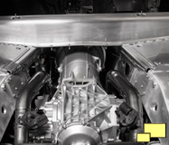 2015 Chevrolet Corvette Z06 eight speed automatic transmission installed