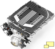 2015 Chevrolet Corvette Z06 LT4 engine supercharger