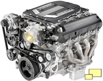 2015 Chevrolet Corvette Z06 LT4 engine
