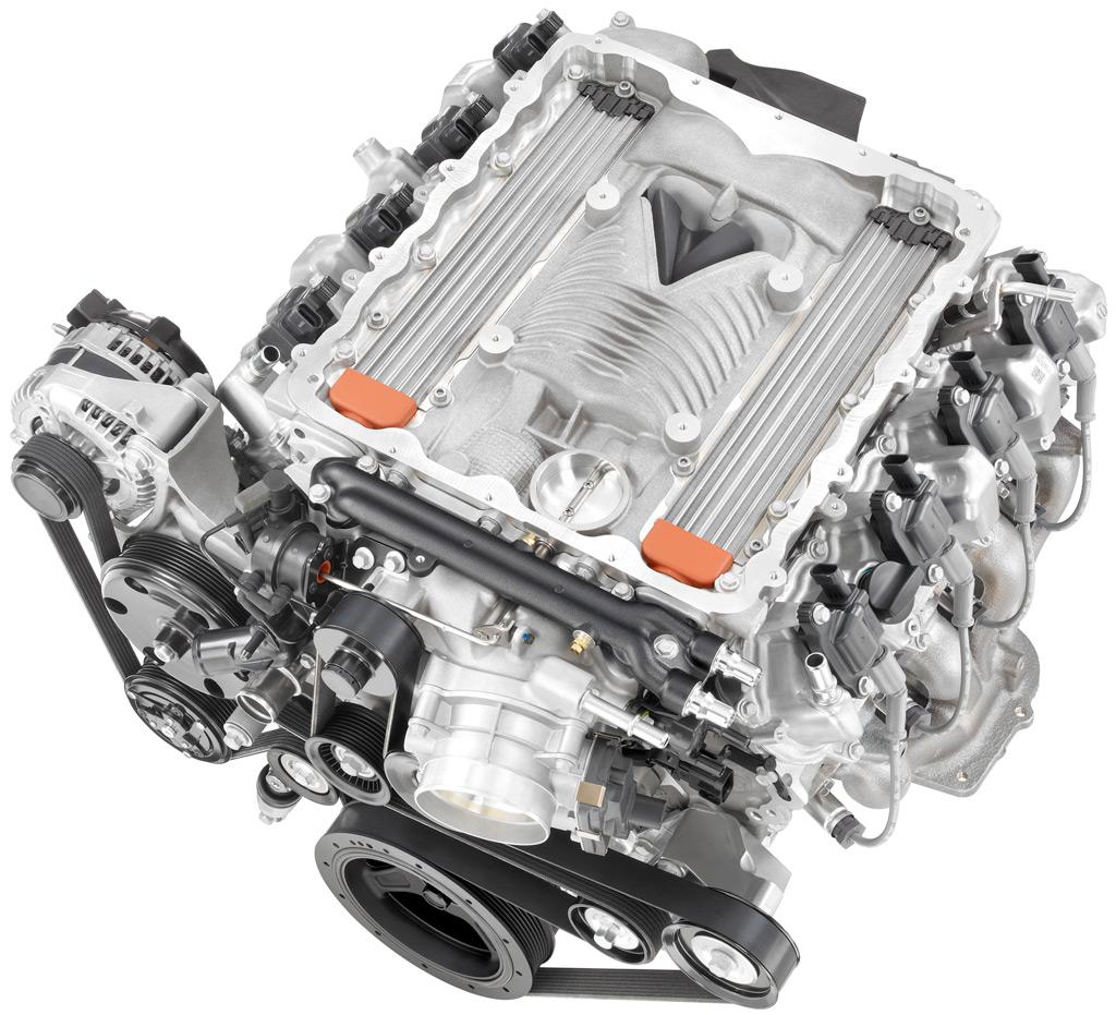 C7 Corvette Z06 Lt4 Engine And Engine Parts Photographs