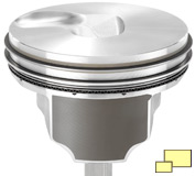 2015 Chevrolet Corvette Z06 LT4 engine piston