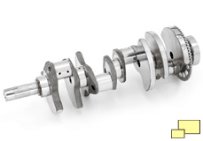 2015 Chevrolet Corvette Z06 LT4 crankshaft