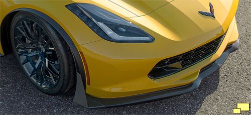 2015 Corvette Z06 with Z07 front aero package