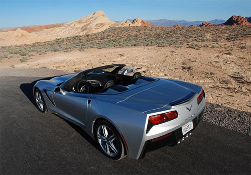 2016 Chevrolet Corvette C7 in Blade Silver Metallic