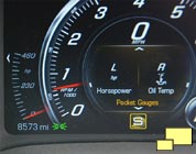 2016 Chevrolet Corvette Pocket Horsepower Gauge
