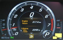 2016 Chevrolet Corvette Gauge - Engine Revs, Engine Hours, Odometer