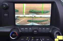 2016 Corvette C7 Curb View Camera Screen