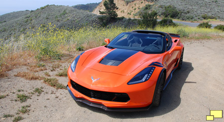 2019 Chevrolet Corvette Grand Sport Coupe in Sebring Orange